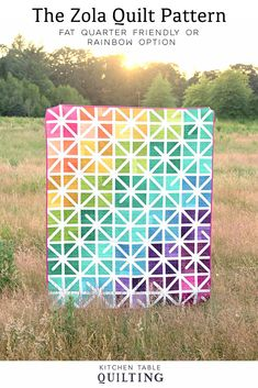 The Zola Quilt - A New Pattern | Kitchen Table Quilting