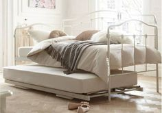 Pop Up Trundle Beds With Metal Bed Frame