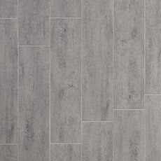 Moritz Gris Wood Plank Porcelain Tile - 6in. x 24in. - 100027606 | Floor and Decor    Bathroom Floors