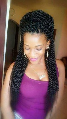 Los Mejores Peinados  28 peinados con trenzas afro  Los Mejores Peinados