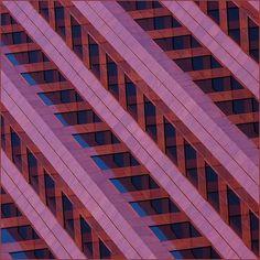 geometry in pink and orange by barbera*, via Flickr