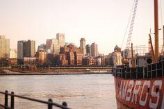 Nueva York en familia. Brooklyn desde el Pier17