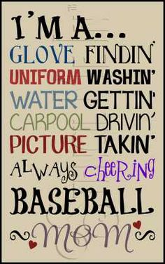 2795 * Baseball Mom 11.25x18 every single one of these is the truth!