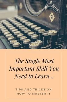 """I believe this is the single most important skill you need to learn, IF...  You really want to grow your business.  And I've NEVER heard an upline or a Network Marketing company talk about this.  But I'm not alone on this one.  Here's what one expert has to say...  """"The ROI on time spent mastering this skill is superior to just about all else""""  He goes on to say..."""