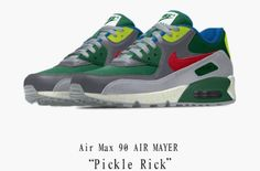 The John Mayer x Nike Air Max 90 Pickle Rick Is Available Now