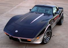 1978 Chevrolet Corvette C3 Indy Pace Car. I went to school with a guy whose father had one of these.