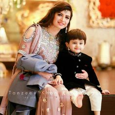 Kids Dress Wear, Mom Dress, Wedding Dresses For Kids, Pakistani Wedding Dresses, Muslim Women Fashion, Boy Fashion, Asian Fashion, Cute Babies Photography, Wedding Photography
