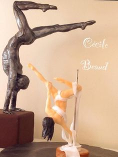 Pole Dance :) by Cecile Beaud of Aujourd'hui dans ma cuisine Dance Party Birthday, Birthday Parties, Pole Dance, Dance Cakes, Chocolate Crafts, Sugar Cake, Cecile, Cake Gallery, Specialty Cakes
