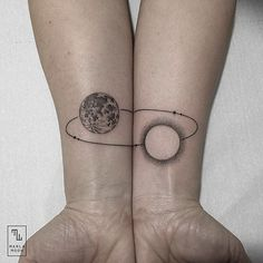 "culturenlifestyle: ""Marla Moon Combines Geometric with Nature in a Series of Enigmatic Tattoos Spanish tattoo artist Marla Moon specializes in creating unique body art through combining beautiful..."
