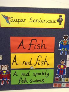 Super sentences display!