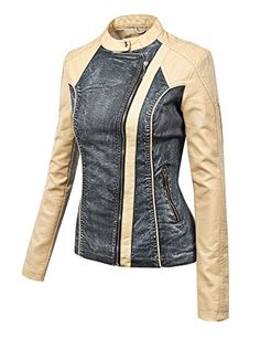 Lock and Love LL Womens Hooded Faux leather Jacket - Faux Leather Jacket - Jackets Cool Jackets, Jackets For Women, Clothes For Women, Big Girl Fashion, Womens Fashion, Ladies Fashion, Denim Ideas, Faux Leather Jackets, Jacket Style