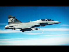 World's MOST ADVANCED Light Combat Fighter SAAB JAS39 Gripen
