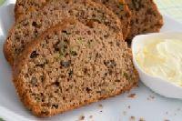 Gluten-free Sourdough Whole Grain Zucchini Bread
