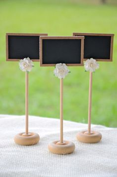 vintage rustic chic chalkboard table by