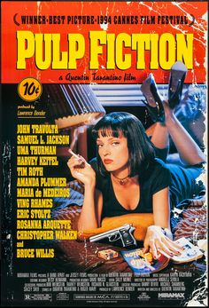 "Pulp Fiction (Miramax, 1994). One Sheet (27"" X 40"") SS. Crime.. ... 
