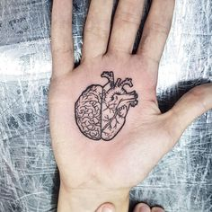 To many people, tattoos are exotic and daring things to get into. Chest Piece Tattoos, Body Art Tattoos, Hand Tattoos, Small Tattoos, Sleeve Tattoos, Cool Tattoos, Brain Tattoo, Tattoo Life, Tattoo Ideas