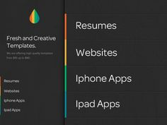 Homepage design/UI design from  http://dribbble.com/shots/517375-Homepage-Design-UI-design?list=searches=dark_ui