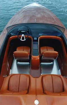 Exotic Performance Speed Boat