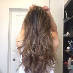 Ash blonde balayage highlights/haircut by Kasuki! 2015 | Yelp