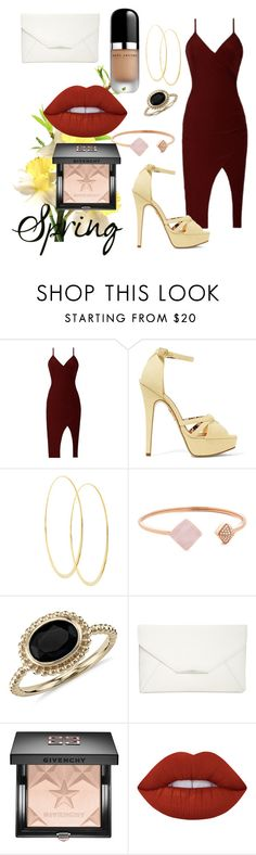 """""""Untitled #2528"""" by michele-96 ❤ liked on Polyvore featuring Charlotte Olympia, Lana, Michael Kors, Blue Nile, Style & Co., Givenchy, Lime Crime and Marc Jacobs"""