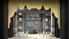 San Francisco Opera Opens 92nd Season with Bellini ('Norma' Set Design by David Korins.) #music #opera