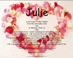 Julie – Name Meaning Names With Meaning, Meant To Be, Poems, Journal, Sayings, Lyrics, Poetry, Verses, Poem
