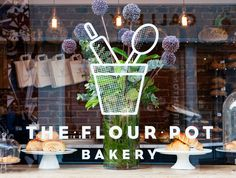 The Flour Pot Brighton - always pick up my bread here when in town - freshly baked and a good price