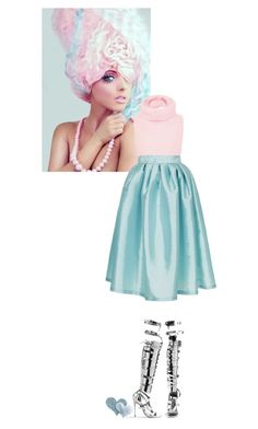 """""""cotton candy"""" by lseed87 ❤ liked on Polyvore featuring Cotton Candy, Tome, Topshop, Tom Ford, Mulberry, Pink, Blue, Silver and cottoncandy"""