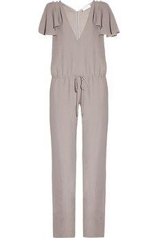 Azzaro|Lucilia crepe jumpsuit|NET-A-PORTER.COM - StyleSays