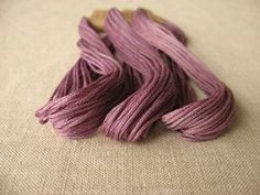 cotton dyed with purple gromwell