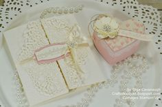So In Love Wedding Card and Heart Box by ocavanaugh - Cards and Paper Crafts at Splitcoaststampers