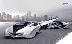 The third winner of Michelin design challenge 2013 is Dolphin concept car designed by Liu Shun, Gao Zhiqiang, and Chen Zhilei. It boasts futuristic, sporty look, but at the same time it has enough space to host the whole family. The car combines smart technology with lightweight body, made from full transparent glass and carbon fiber, to reduce energy consumption for better environment.