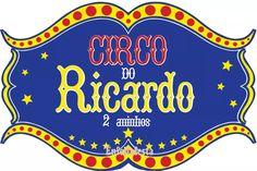 placa personalizada circo painel  vintage 40x27cm mdf