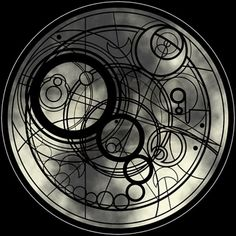 Gallifreyan (Doctor Who), maybe I could do this with a watercolor effect as a cover-up on my shoulder