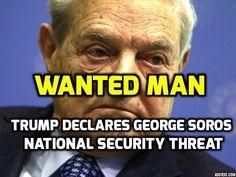 "Trump Declares George Soros as ""National Security Threat"" Using Obama's Executive Order!"