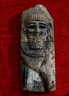 A statue from the Kingdom of Nimrod (ninth century B.C.), displayed at the Iraqi National Museum in Baghdad, Iraq. Ten years after it was looted and smashed during the U.S.-led invasion in 2003, the museum is still far from ready for a public re-opening.