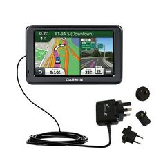 Uses Gomadic TipExchange Technology Coiled Power Hot Sync USB Cable for the Garmin Nuvi 260W 260 with both data and charge features
