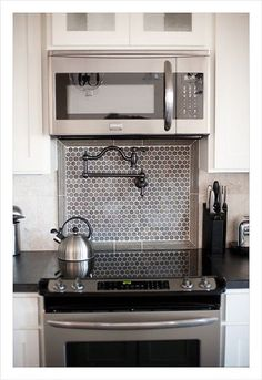faucet over stove - Google Search