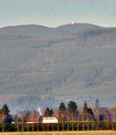 Laurel Mountain near Dallas, Oregon, rainfall King of Oregon