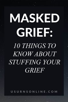 Learn the 10 things you need to know about stuffing your grief and how you can process this grief in a healthy way Writing A Eulogy, Funeral Etiquette, In Loving Memory Quotes, Funeral Songs, Funeral Ceremony, Dealing With Grief, Funeral Planning, Grief Loss, Life Affirming