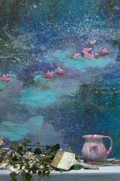 in the manner of Monet, posted via grangedecharme.canalblog.com