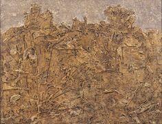 Jean Dubuffet - Paysage blonde (viaggio nel Sahara)