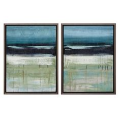 Art for rug option 2 Sky And Sea 2 - Set of 2 from Z Gallerie