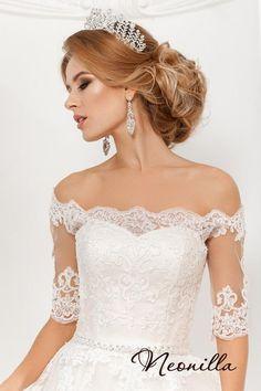Lace wedding dress, Satin wedding dress, Tulle wedding dress, Wedding, Wedding dress, Unique wedding dress, Wedding dress long sleeve