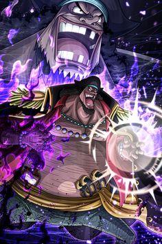 Yonkou: Marshall D Teach/ Barba Negra Kaidou One Piece, One Piece Figure, One Piece Series, One Piece Chapter, One Piece World, Zoro One Piece, One Piece Fanart, Manga Anime One Piece, Anime Manga