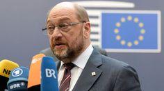 """Schulz: """"Overwinning Trump is als de brexit"""""""