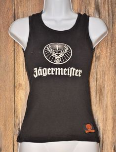 $10.02 USED Jagermeister Shot Taker Tank with Labels Perfect for Unique Crafts or Parts #Jagermeister
