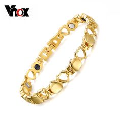 Healthy Care Magnetic Bracelets Bangles Gold Plated Heart Stainless Steel Women Female Fashion Jewelry Check it out! Fashion Accessories, Fashion Jewelry, Women Jewelry, Fashion Clothes, Beautiful Gifts, Beautiful Outfits, Gold Bangles, Bangle Bracelets, Heart Bracelet