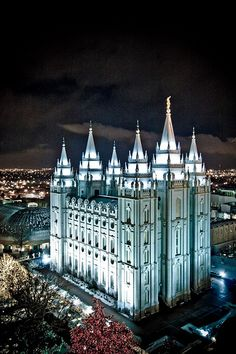 weekly session visits to the Salt Lake Temple, when I lived in Utah