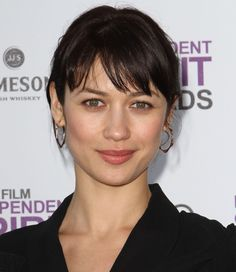 light bangs ~ Olga Kurylenko